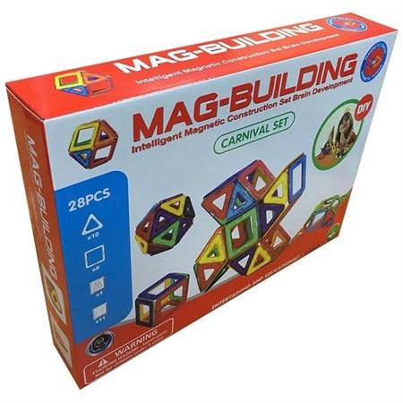 Магнитный конструктор 28 деталей - фото 14734
