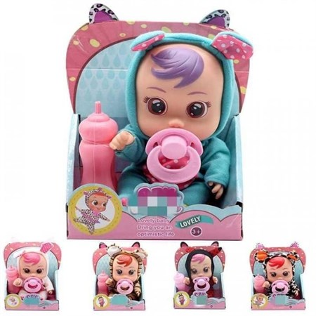 Кукла пупс Cry Babies Плачущий малыш Большой - фото 14776