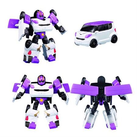 Робот тобот трансформер фиолетовый минивэн - фото 14830