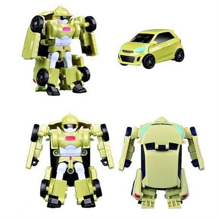 Робот тобот трансформер зелёный минивэн - фото 14831