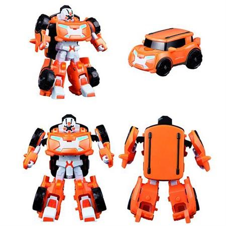 Робот тобот трансформер оранжевый минивэн - фото 14833