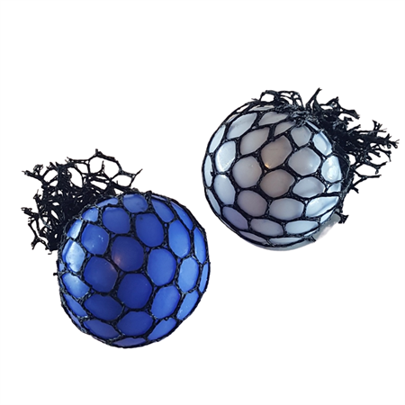Антистресс мяч в сетке - фото 14977