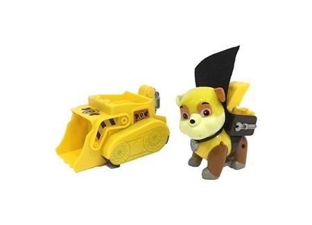 Щенячий патруль на машинке щенок Крепыш - фото 15055