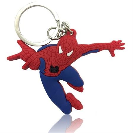 Брелок пвх Человек паук 3см уп12шт - фото 15082