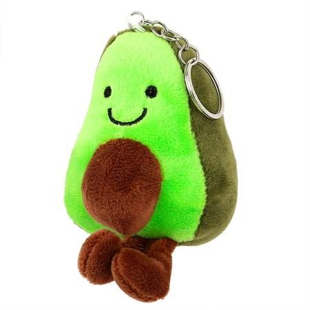 Мягкий брелок Авокадо (в упаковке 12 шт) - фото 15097