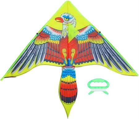 Воздушный змей малый, расцветка в ассортименте - фото 15132
