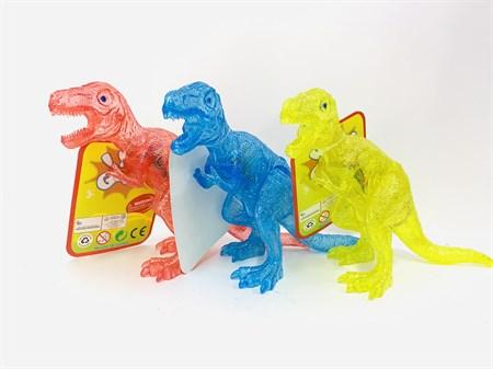 Фигурка динозавра музыкальный , светящийся, цвет в ассортименте - фото 15149