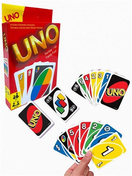 Настольная карточная игра UNO - фото 15241