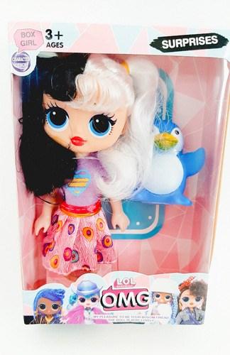 Кукла сюрприз девочка с питомцем - фото 15332