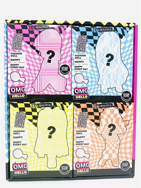 Кукла сюрприз в коробке серия OMG Hello (в упаковке 8 шт) - фото 15351
