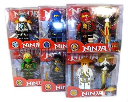 Фигурка Ninja с оружием - фото 15370