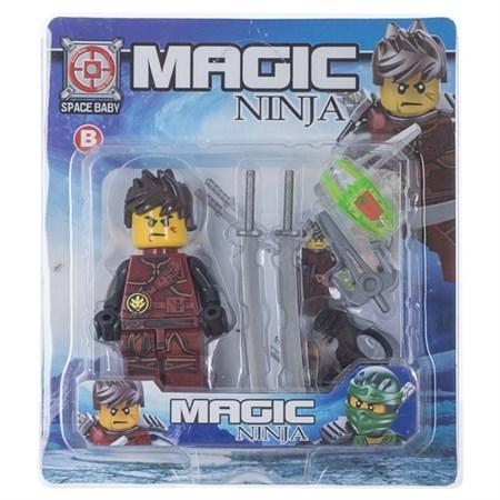 Фигурка Ninja с оружием - фото 15446