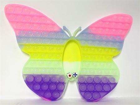 POP IT бабочка с игрой внутри - фото 15478