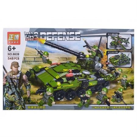 """Конструктор """"War Defense"""" Военное 548 дет. - фото 15516"""