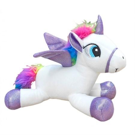 Мягкая игрушка Единорог с крылья - фото 15529