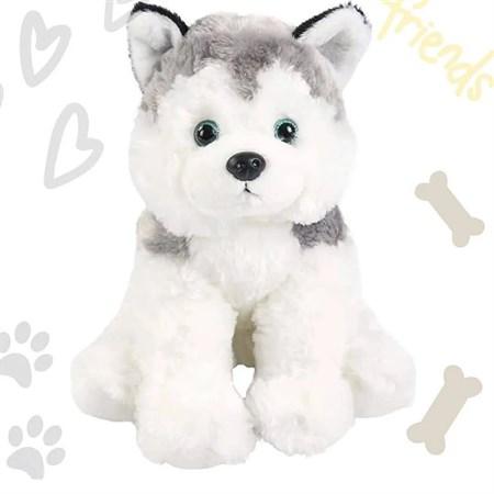 Мягкая игрушка Собака Хаски - фото 15531