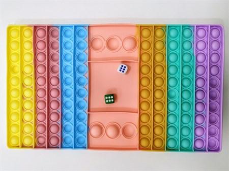 Pop it (вечная пупырка) Антистресс игра Прямоугольник - фото 15570