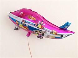 Шар самолет, фольга - фото 7891
