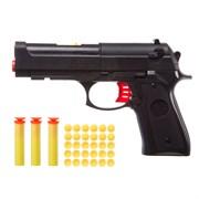 Пистолет в коробке (пульки, мягкие пульки, орбиз)