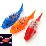 Рыбка музыкальная, катается