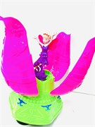 Кукла музыкальная с лепестками, катается + свет