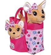 Музыкальная собака Чичилав в сумке, ходит на поводке, с щенком в комплекте
