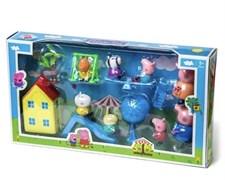 Игровой набор с домиком Свинка и друзья