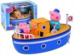 Игровой набор Катер и семья Свинки