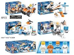 Конструктор Лего Сити Космос среднее (8 шт в упаковке)