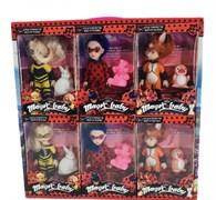 Кукла Леди Баг и подружки с питомцем в ассортименте (в упаковке 12 шт.)