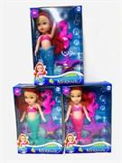 Кукла русалка с аксессуарами, цвет в ассортименте (в упаковке 12 шт.)