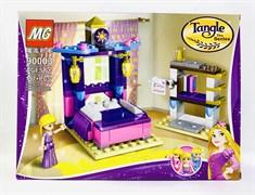 Конструктор Лего для девочек 197 дет. Спальня Рапунцель