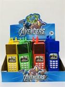 Музыкальный телефон Супергерои Avengers (в упаковке 12 шт.)