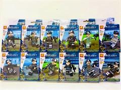 Конструктор Лего Военное герой с оружием ( в упаковке 12 шт)