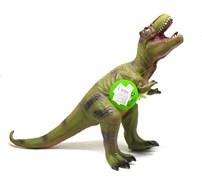 Большой резиновый динозавр с озвучкой , в ассортименте