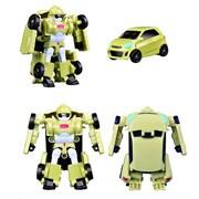 Робот тобот трансформер зелёный минивэн