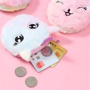 Мягкий кошелёк Кошка