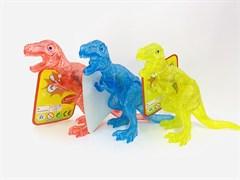 Фигурка динозавра музыкальный , светящийся, цвет в ассортименте