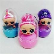 Куколка сюрприз в Яйце (в упаковке 12 шт)